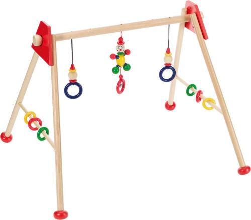 Gym & Fitnesscenter Baby-Fit-Spieltrainer MÄNNCHEN ROT Baby-Gymnastikcenter Spielbogen Fitnesscenter Baby
