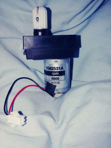 GGM KM2531A geared 24v DC motor 6500 rpm