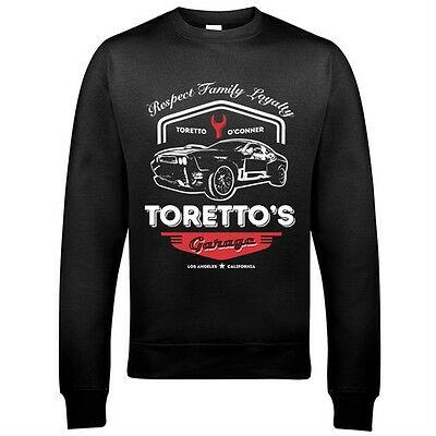 9360 Toretto's Garage Sweatshirt Fast Street Speed Furious Racing And