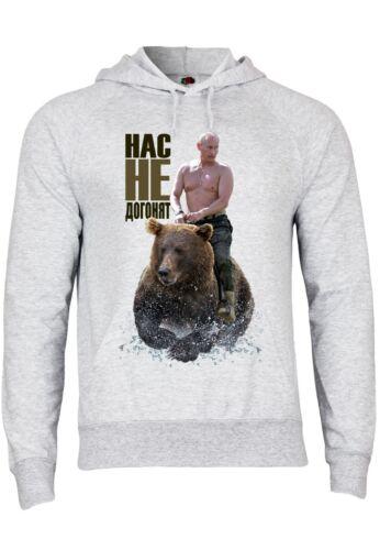 M109 f430 uomo con cappuccio Hoodie Felpa con motivo Putin Not Gonna Get Us Fun