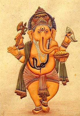 HINDU GOD LAKSHMI GOLDEN ARCHWAY LAXMI FRIDGE MAGNET INDIA