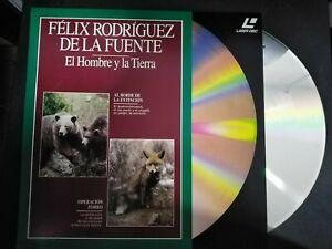 Felix-Rodriguez-Of-Power-Supply-Laser-Disc-the-Man-Y-La-Earth-Grizzly-Bear-Y-Fox