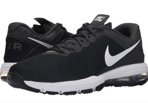Nike Air Max Full White Ride TR Trainer Black White Full Breathable819004-001 Mens 10.5 8ccaf9
