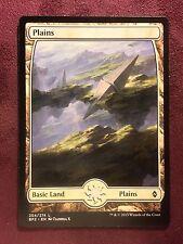 Battle for Zendikar Full Art Land  Plains #254  VO  -  MTG Magic (Mint/NM)