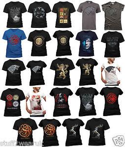 OFFICIAL-Game-Of-Thrones-T-Shirts-Stark-Winter-House-Crests-Targaryen-Khaleesi