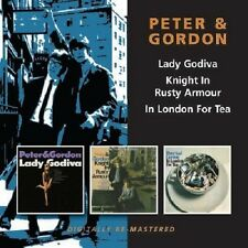 Peter & Gordon Lady Godiva/Knight In Rusty Armour/In London For Tea 2-CD NEW