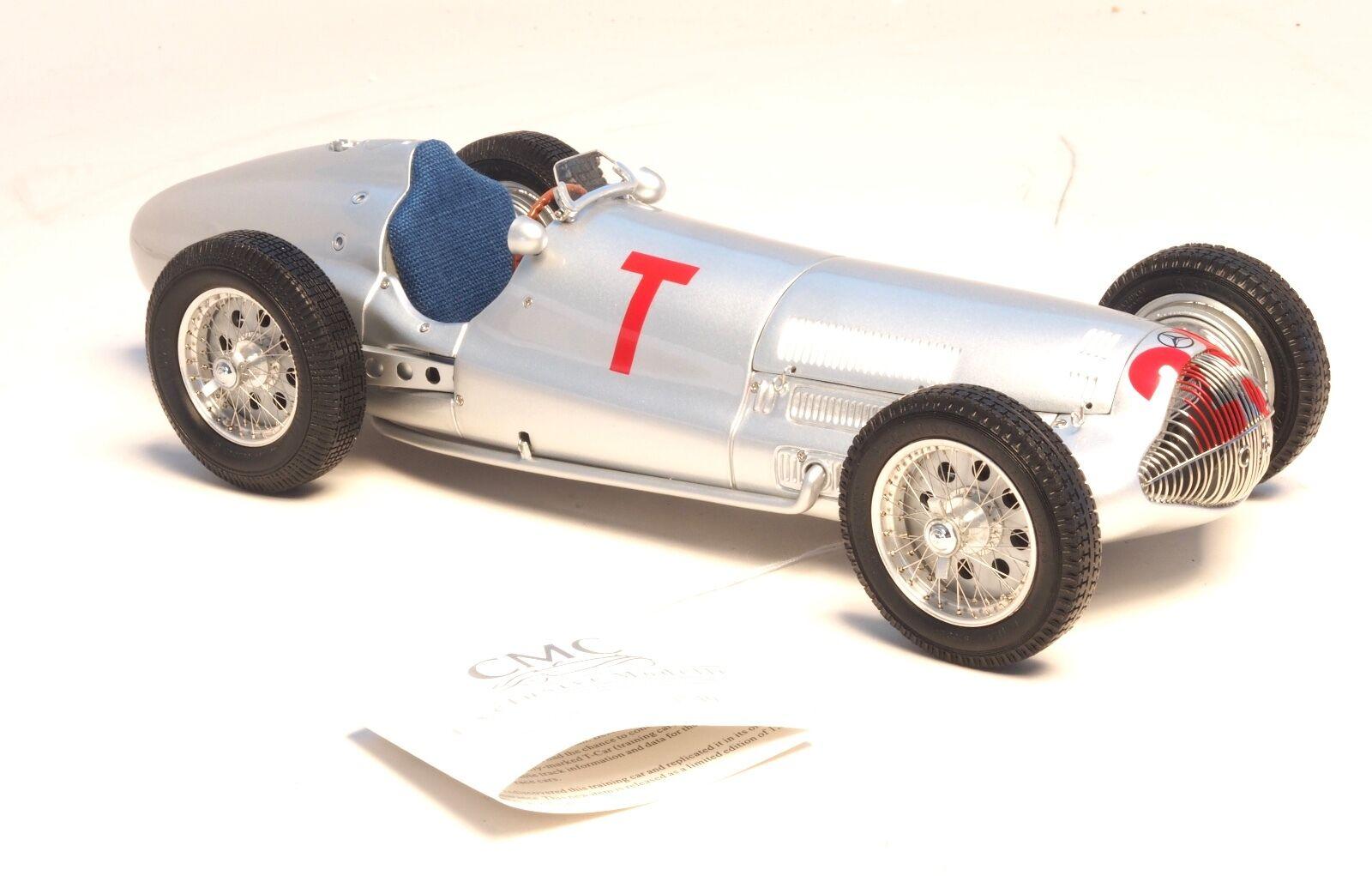 1938 Mercedes-Benz W154, Gp France en 1 18 Echelle par Cmc - M-099