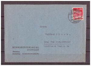 Allies-Occupation-Minr-85-Ef-Tst-Ellwangen-Wurtt-18-09-1948