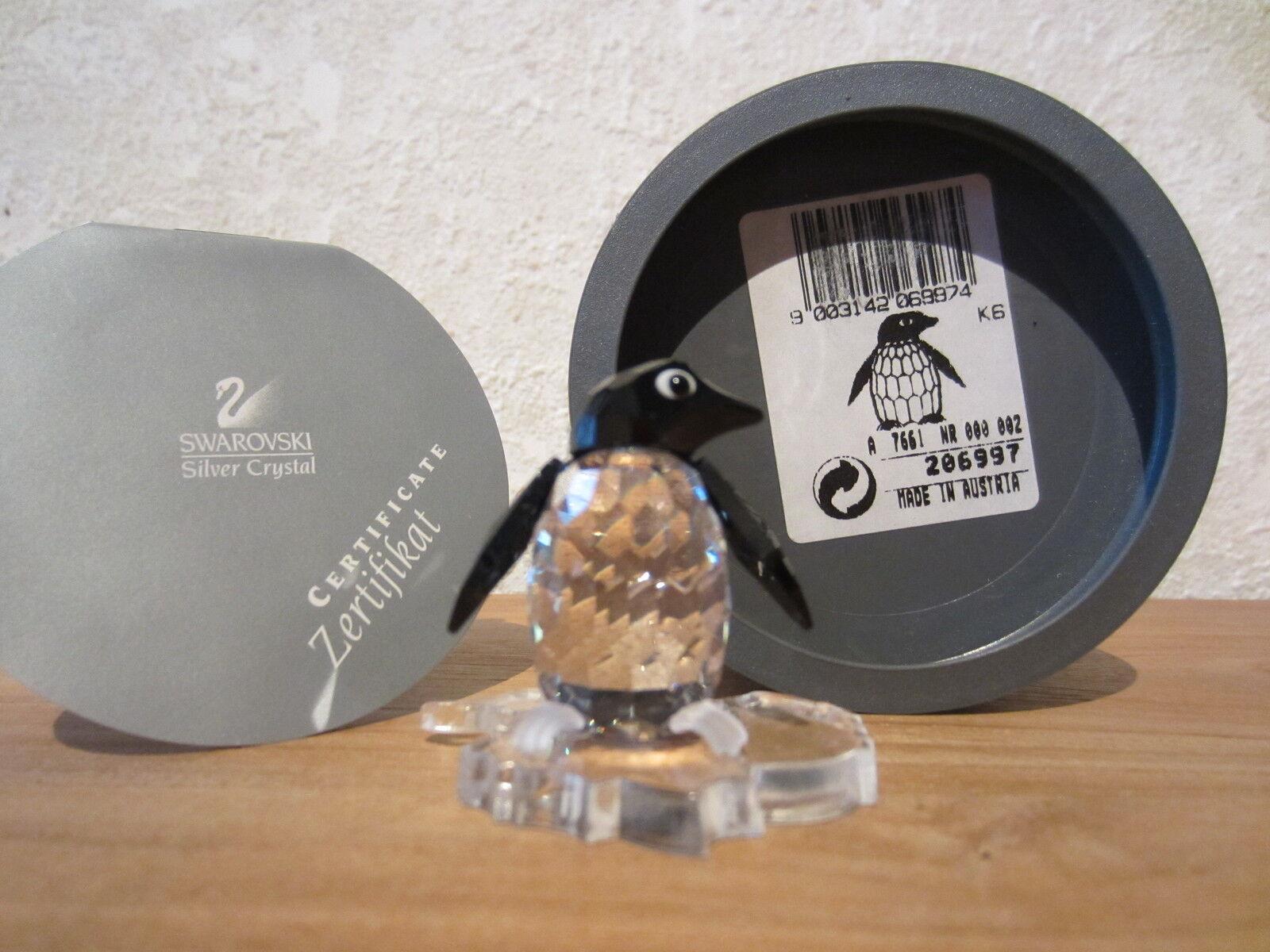 SWAROVSKI NEW Madame Pingouin Madame Penguin 206997 H.3,8cm with stand