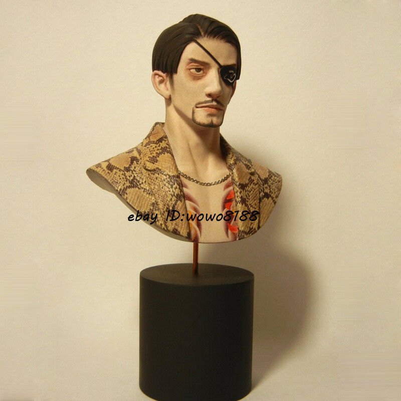 Unpainted Resin Figure Model MIDgold Ggold Best Majima Bust Garage Kit Statue