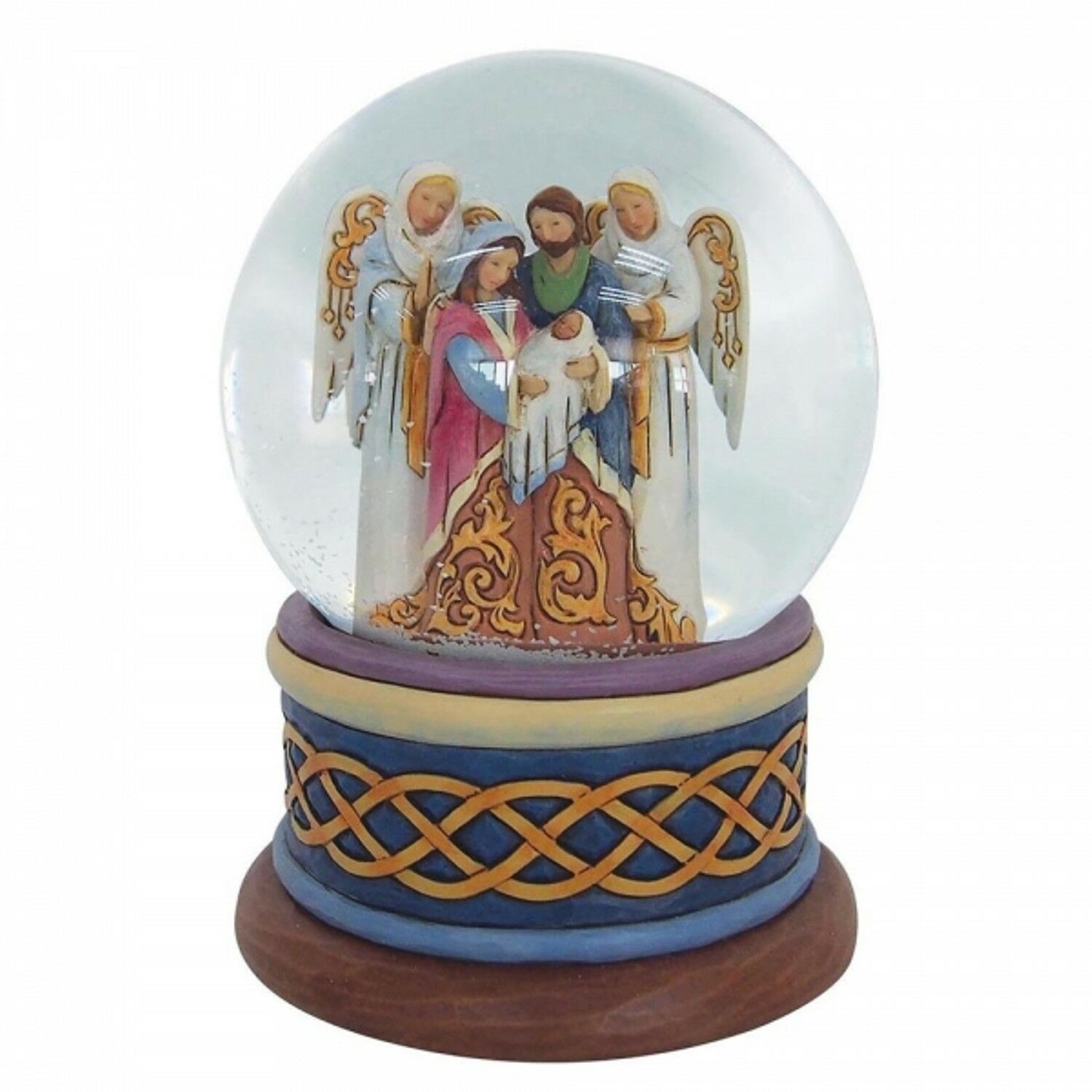 HEARTWOOD CREEK Nativity Schneekugel 4058801