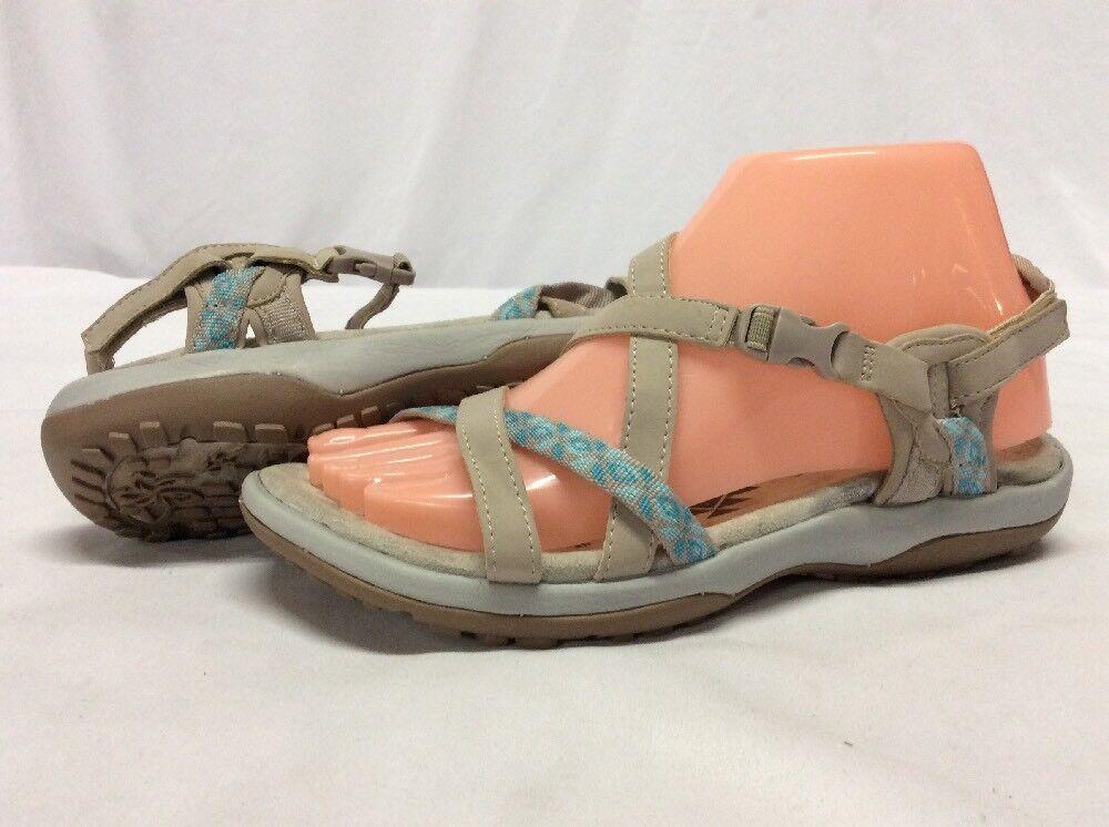 SKECHERS Memory Foam Women's Sandals, Sandals, Sandals, Natural, Size 6 Eur 36. ....S36 e6045e
