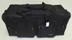 "35"" BLACK TRAVEL, GYM, LUGGAGE BAG"