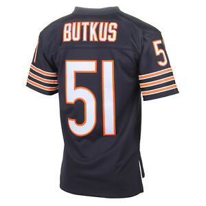 new product a014c 4c122 Details about Mitchell & Ness Chicago Bears Dick Butkus TC Jersey