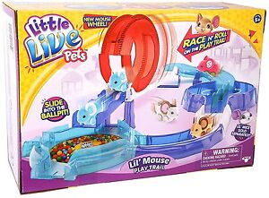Little-Live-Pets-S2-Lil-Mouse-Play-Trail-Ages-5-Toy-Gift-Boys-Girls-Spin-Happy