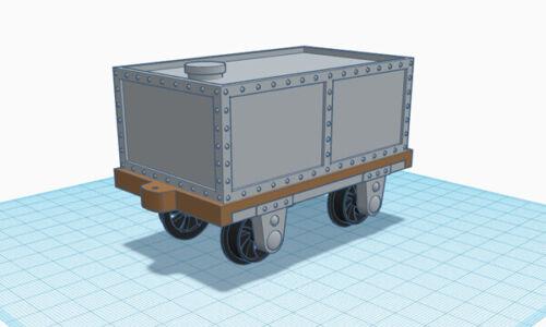 Industrial Water Tank Wagon Kit 16mm SM32 Narrowgauge Garden Railway
