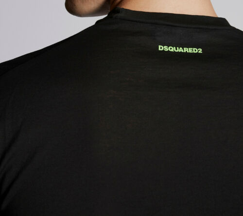 Details about  /Dsquared2 Mens 100/% Cotton T-Shirt Round Neck Short Sleeves Casual Tee Top