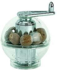 Peugeot 19501 Tidore 4.25 Inch Nutmeg Grinder, Clear Acrylic
