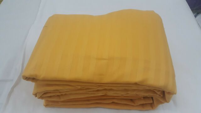 Bedding Collection 1000 Thread Count Egyptian Cotton US Sizes Gold Striped