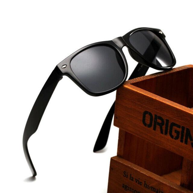 Classic Vintage Smoke Lens Sunglasses Yellow Frame Retro 80/'s OWL