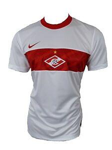 Nike-Spartak-de-Moscu-Jersey-Maillot-blanco-Gr-XXL