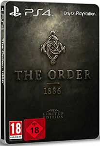 PS4-The-Order-1886-Limited-Steelbook-Edition-UNCUT-Arsenal-des-Ritters-NEU-amp-OVP
