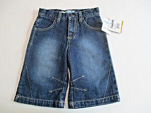 Flapdoodles-Pants-Jeans-Sz-3T-Girl-039-s-Capris-Dark-Denim-Blue-Crop-Culottes-NWT