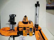 Johnson Acculine Pro 40 6500 Manual Leveling Rotary Laser Level With Soft Sided