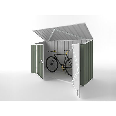 Garden Bike Shed 2.25m (w) x 0.78m (d) x 1.31m (h) in Colour