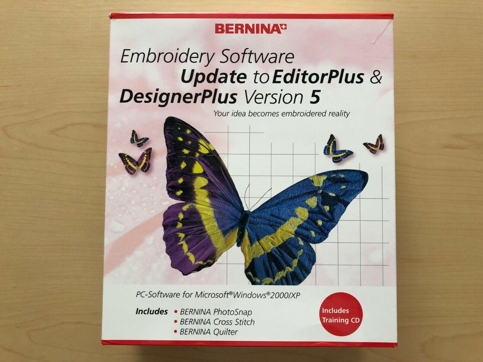 Bernina Embroidery Software Designerplus Version 5 For Sale Online Ebay