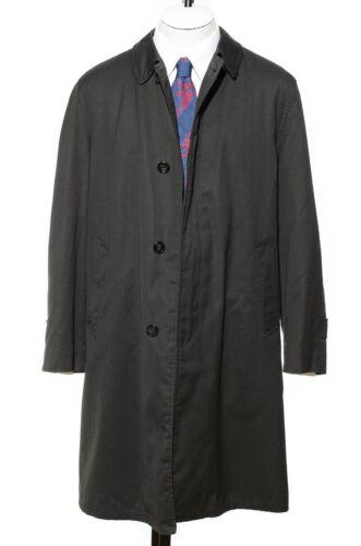 40r jas groen l jas voering regenjas Zip in trenchcoat regen Vintage 60s M rzqwrZO