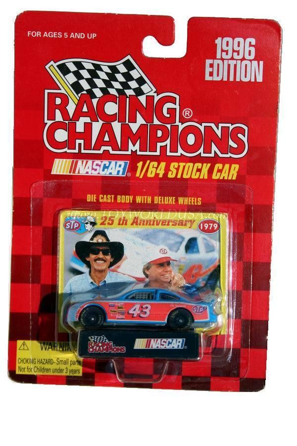 Racing Champions 1996 Edition Bobby Hamilton Pontiac STP 25th Anniv 1979