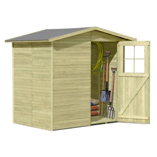 Cabane à outils Francfort 180 x 145 cm en bois imprégné cabane de jardin cabane à outils