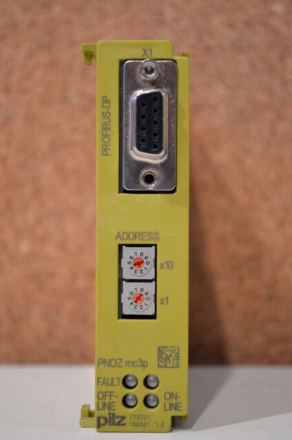 773721 Erweiterungsmodul Pilz PNOZ mc3p