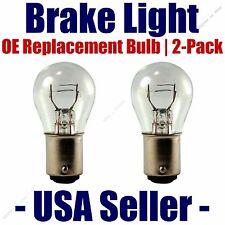 7528 Fits Listed Fiat Vehicles Stop//Brake Light Bulb 2pk
