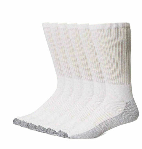 3-12 Pairs DICKIES Mens Industrial Crew Boot Work SocksThick Heavy Duty 6-11 lot