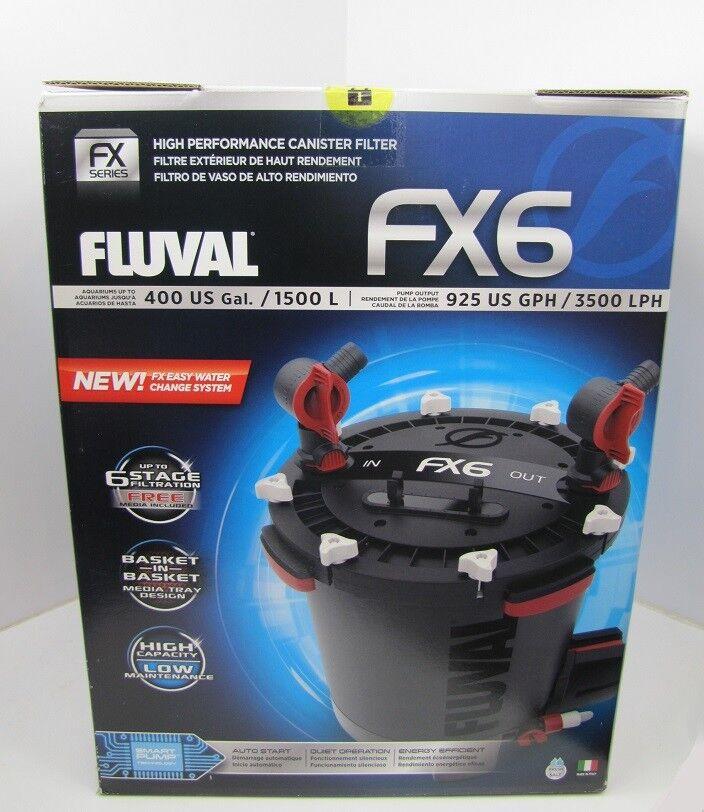 Fx6 Fluval Filtro esterno per acquari fino a 1500l ad alte prestazioni filtro esterno
