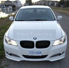 BMW E90 E91 08-11 LCI Front Bumper spoiler flaps elerons addon NOT M 3 tech pack