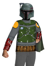 """Star Wars Kids Boba Fett Mask and Top Costume, Med,Age 5-7, HEIGHT 4' 2"""" - 4' 6"""""""