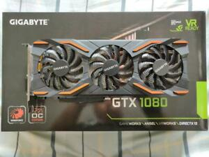 GIGABYTE NVIDIA GEFORCE GTX 1080 8GB WINDFORCE OC EDITION