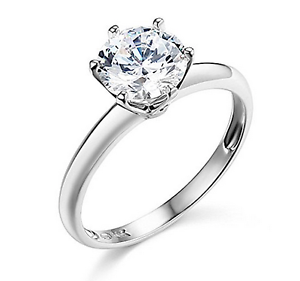 2-Ct-Round-Cut-Solitaire-Engagement-Wedding-Promise-Ring-Solid-14K-White-Gold