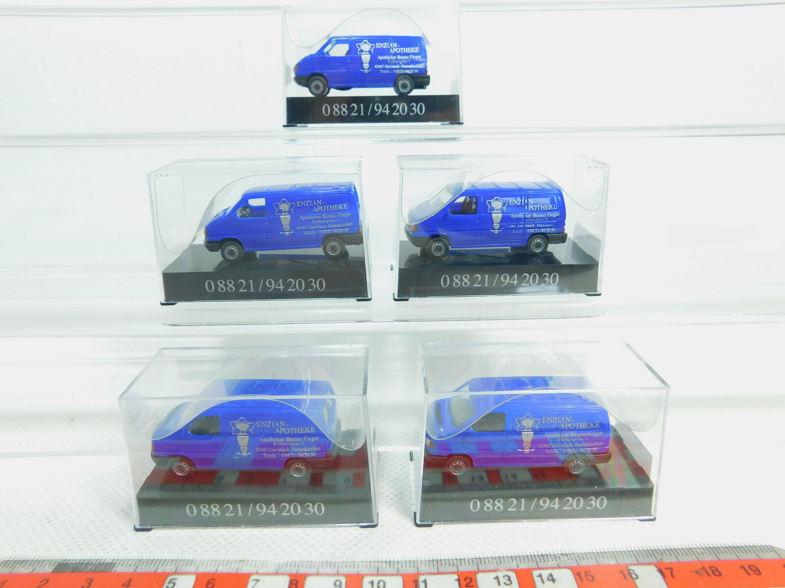 Bn133-0, 5  5x AWM (AMW) h0 1 87 transporteur VW Enzian-pharmacie, Neuw  neuf dans sa boîte