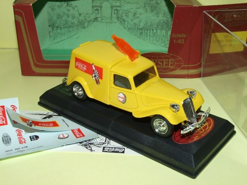 CITROEN TRACTION 11 FOURGONNETTE COCA COLA ELYSEE 518 1 43