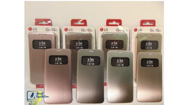 quality design c9040 8a859 Original LG G5 Quick Circle Case Protective Cover CFV-160 Flip Case View  Window