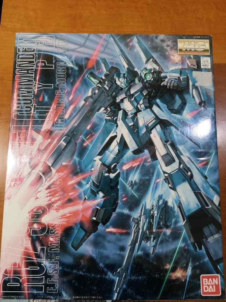 BANDAI MG 1 100 RGZ-95C ReZEL COMMANDER TYPE Plastic Model Kit Gundam UC