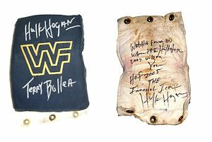 WWF-WWE-HULK-HOGAN-EVENT-USED-RING-USED-TURNBUCKLE-SIGNED-WITH-PICTURE-PROOF-COA