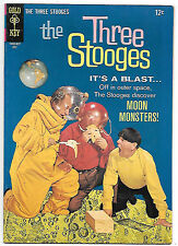 The Three Stooges #29 (Gold Key 1966 vf 8.0) guides at $44.00 (£35.00)