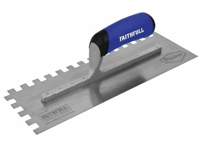 Faithfull - Truelle dentelée de prestige 330 x 115mm (13 x 4.1   2in)