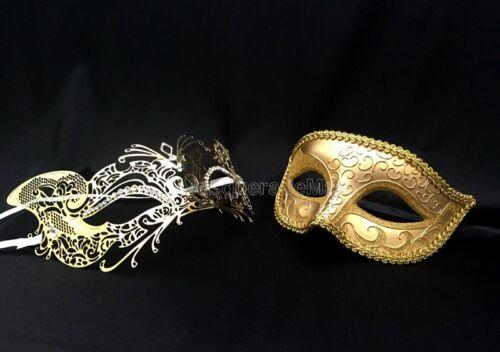 Couple Masquerade Ball Kitty Cat Mask animal Costume School Wedding Bachelor