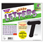 thumbnail 1 - Black 4-Inch Italic Upper/Lowercase Letters - Classroom Displays, Notice Boards